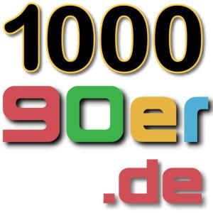 1000 90er Logo